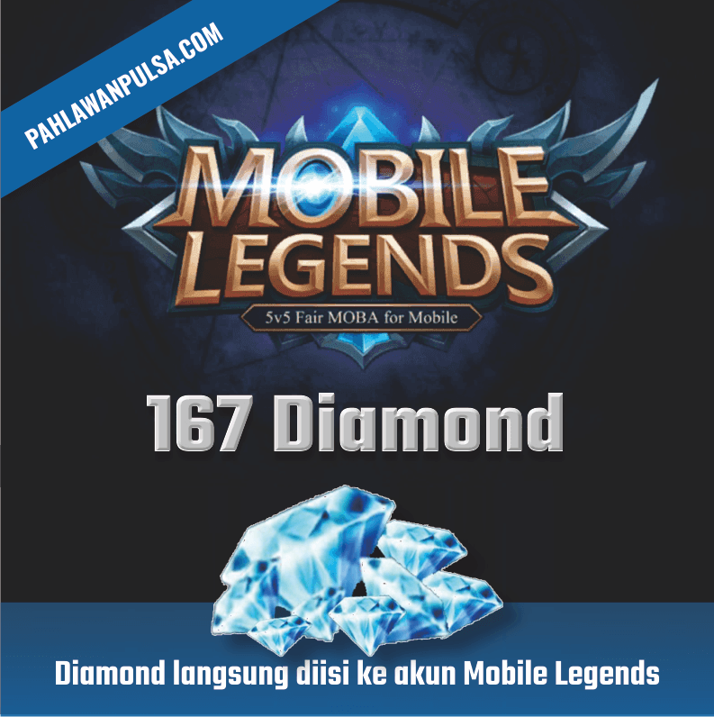 Mobile Legend Diamond Mobile Legend - 170 DIAMOND
